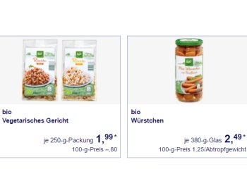 Aldi-Süd: Bio-Spezial mit 21 zertifizierten Produkten ab kommenden Montag