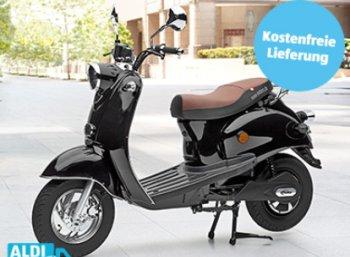 """Wieder da: Aldis Elektroroller """"eRetro Star"""" für 999 Euro"""