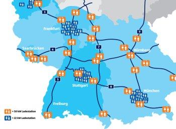 Aldi-Süd: Weitere kostenlose Elektro-Tankstellen entlang von Autobahnen geplant