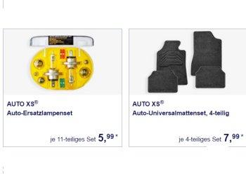 Aldi-Süd: KfZ-Spezial mit Ersatzlampensets, Verbandtaschen und mehr
