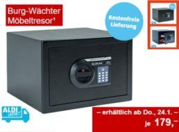 Aldi-Süd: Möbeltresor von Burg-Wächter für 179 Euro frei Haus