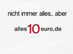 Alles 10 Euro: Jeden zweiten Artikel zum Nulltarif bestellen
