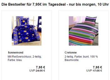 Allyouneed: Bettwäsche für 7,95 Euro frei Haus
