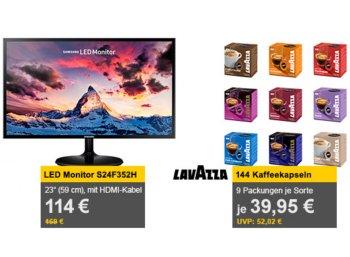 Allyouneed: 144 Lavazza-Kapseln für 39,95 Euro frei Haus