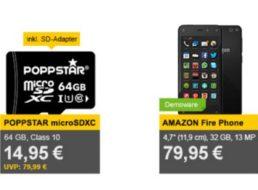 Allyouneed: Poppstar Micro-SDXC-Card mit 64 GByte für 14,95 Euro