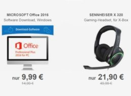 Allyouneed: Microsoft Office 2016 Professional Plus für 9,99 Euro