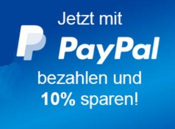Allyouneed: Zehn Prozent Paypal-Rabatt bis Ende Oktober