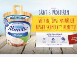 Gratis: Almette zum Nulltarif testen dank Geld-Zurück-Aktion