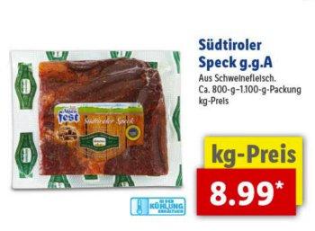 Lidl: Alpen-Spezial mit Knödlen, Haxen und edlen Schnäpsen