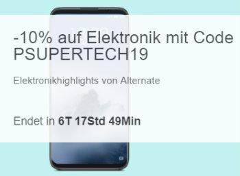 Ebay: Elektronik-Schnäppchen von Alternate mit zehn Prozent Extra-Rabatt
