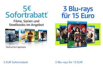 Amazon: Fünf Euro Film-Rabatt ab 29 Euro Warenwert bis Sonntag