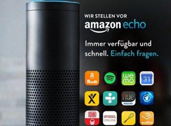 Amazon Echo: 50 Euro Rabatt für Prime-Kunden bei Reservierung bis Freitag