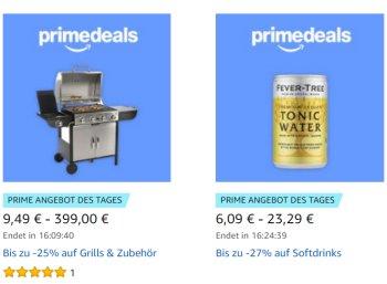 Amazon: Grill-Spezial mit Gewürzen, Schürzen und mehr