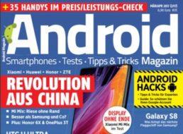 Gratis: Androidmag zum kostenlosen PDF-Download