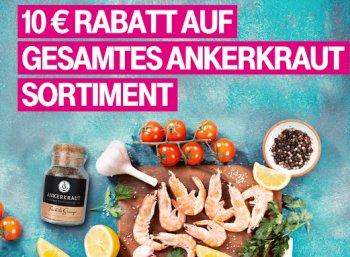 Ankerkraut: 10 Euro Rabatt ab 20 Euro Warenwert für Telekom-Kunden