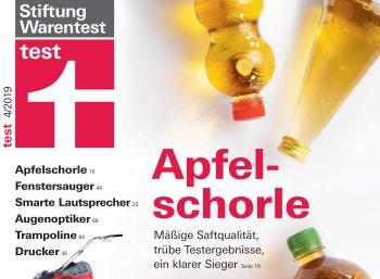 """Test: Discounterprodukt siegt beim Apfelschorle-Test, ein Drittel sind """"mangelhaft"""""""