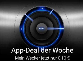 """Google Play: App """"Mein Wecker"""" für 10 Cent statt zwei Euro"""