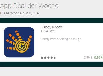 """App-Deal: """"Handy Photo"""" für 10 Cent statt 2,99 Euro für wenige Tage"""