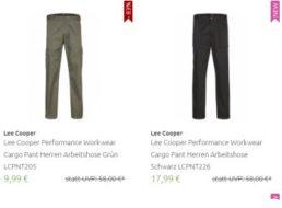 Outlet46: Arbeitshosen von Lee Cooper ab 9,99 Euro frei Haus