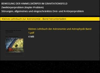 Astronomie.de: 15 Gratis-eBooks zu astronomischen Themen