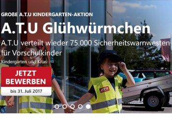 Gratis: 75.000 Warnwesten für Vorschulkinder von A.T.U