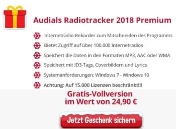"""Gratis: """"Audials 2018"""" und """"Online TV 14"""" bei Heise und Chip zum Nulltarif"""