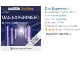 Gratis: Fünf Audible-Hörbücher zum Nulltarif verfügbar