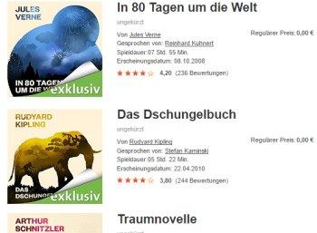 """Gratis: Drei Hörbücher zum """"Welttag des Buches"""" bei Audible geschenkt"""