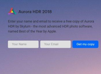 """Gratis: """"Aurora HDR 2018"""" für kurze Zeit komplett gratis"""