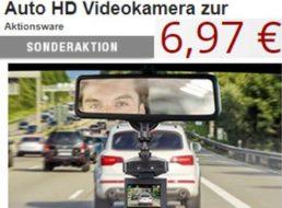 Druckerzubehoer.de: Auto-HD-Videokamera für 12,94 Euro frei Haus
