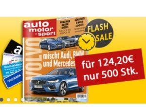 """Prämienabo: """"auto motor und sport"""" für 119,20 Euro mit Prämie über 120 Euro"""
