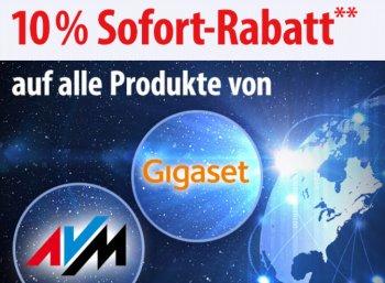Völkner: 10 Prozent Rabatt auf Produkte von AVM und Gigaset