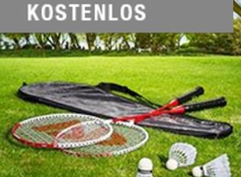 Druckerzubehoer.de: Badminton-Set für 0 Euro plus Versand