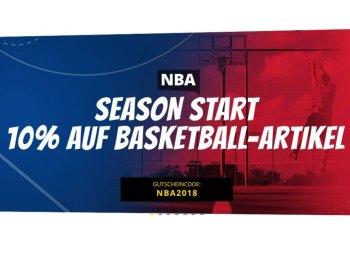Sportspar: 10 Prozent Rabatt auf alle Basketball-Artikel