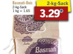 Lidl: Asia-Spezial mit Zwei-Kilo-Säcken Reis und mehr