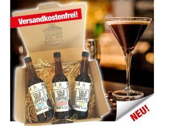 """Kaffeevorteil: Geschenkpaket """"Batavia Cold Drip Coffee"""" für 15,49 Euro frei Haus"""