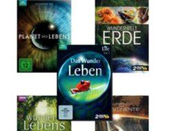 Terrashop: Zehn DVDs mit Dokus der BBC & Discovery Channel für 19,99 Euro frei Haus