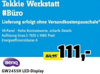 Conrad: LED-Monitor BenQ GW2455H für 105,45 Euro frei Haus