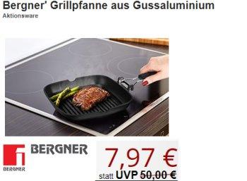 Druckerzubehoer: Bergner-Grillpfanne zum Bestpreis von 7,97 Euro plus Versand