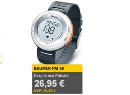 Allyouneed: Pulsuhr Beurer PM 58 für 26,95 Euro frei Haus