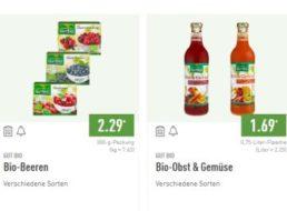 Aldi-Nord: Bio-Woche mit 21 zertifizierten Produkten