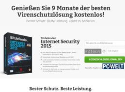 Gratis: Bitdefender Internet Security 2015 neun Monate kostenlos