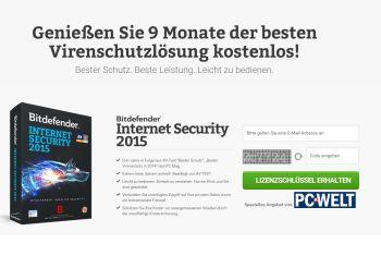 Bitdefender Internet Security 2015 für 270 Tage gratis nutzen