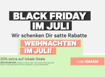 """Groupon: """"Black Friday"""" mit Schnäppchen unter 25 Euro"""