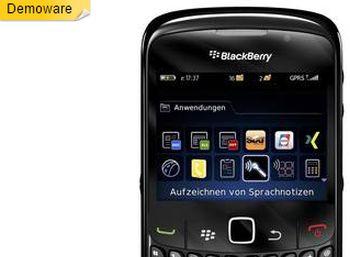 BlackBerry 8520 Curve als Demoware für 39,90 Euro