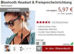 Druckerzubehoer.de: Bluetooth-Headsets für 5,97 Euro frei Haus