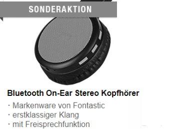 Fontastic: Bluetooth-Kopfhörer für 6,97 Euro bei Druckerzubehoer.de