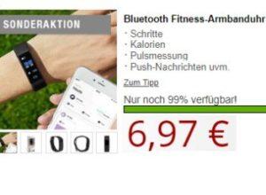 Druckerzubehoer.de: Bluetooth-Armbanduhr für 6,97 Euro
