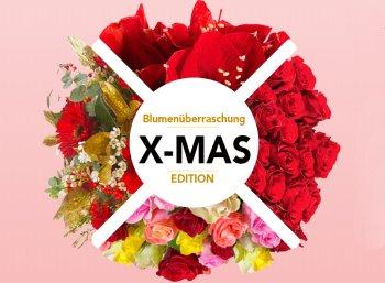 Blumeideal: Blumenüberraschung zu Weihnachten für 22,98 Euro frei Haus