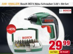 Bosch: Akkuschrauber IXO V bei Völkner für 29,99 Euro frei Haus